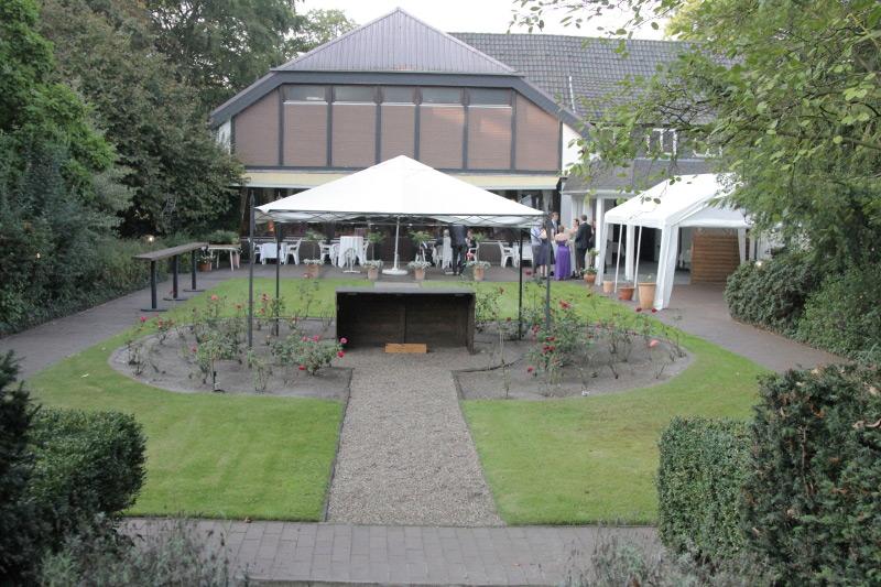 Garten | Räumlichkeiten Gasthaus Restaurant Nobel Moordeich