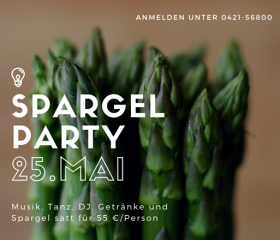 Spargelparty